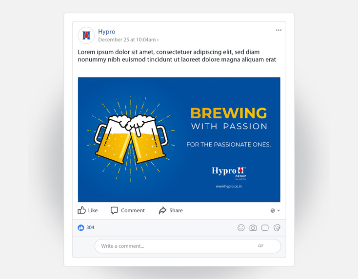 brewing with passion hypro post