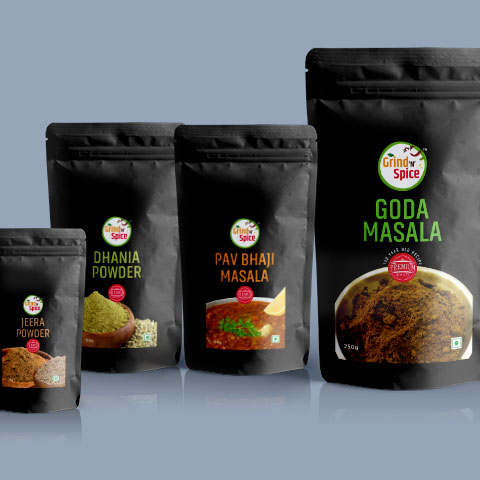 Spices Packaging
